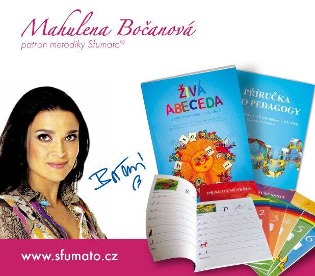 Mahulena Bo�anov� - patron metodiky Sfumato